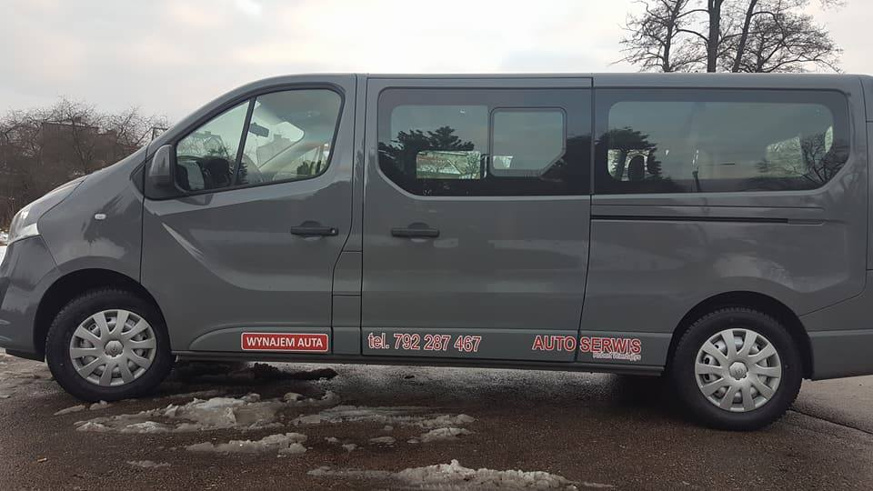 wypożyczalnia samochodów - Vivaro
